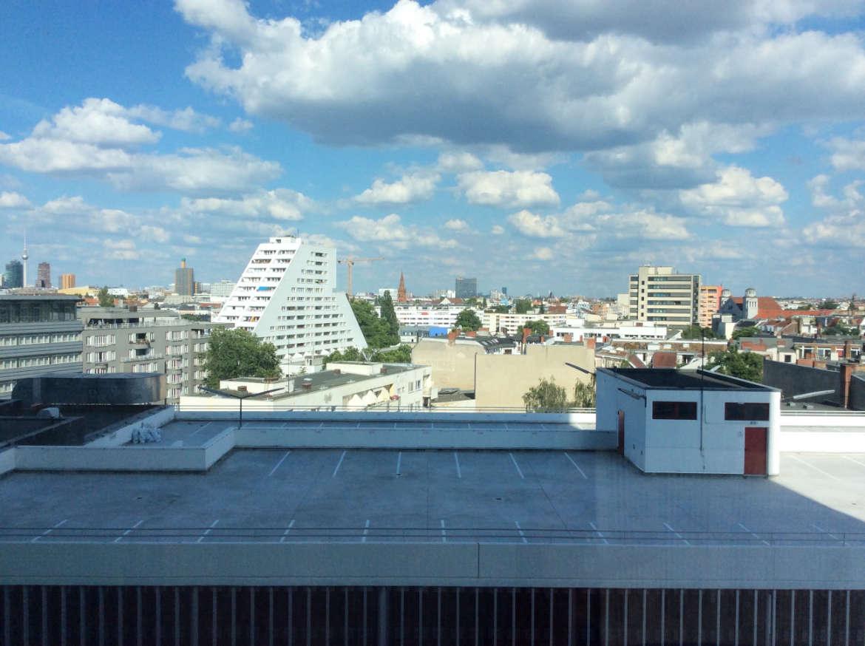 Der Ausblick aus meinem Zimmer im RIU Plaza Berlin