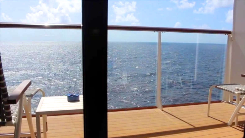 Der Balkon auf Mein Schiff 3