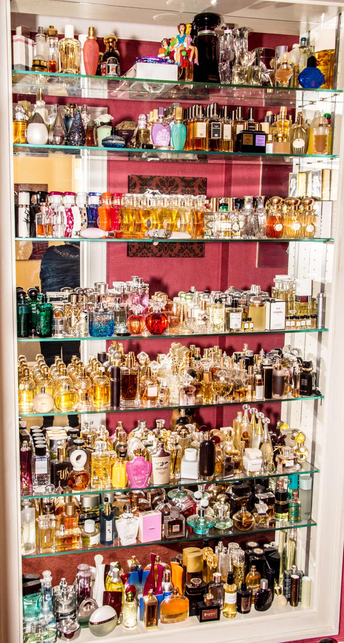 Die Parfumsammlung von Uschi Ackermann