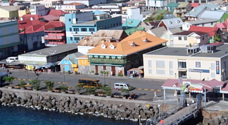 Der Hafen von Dominica