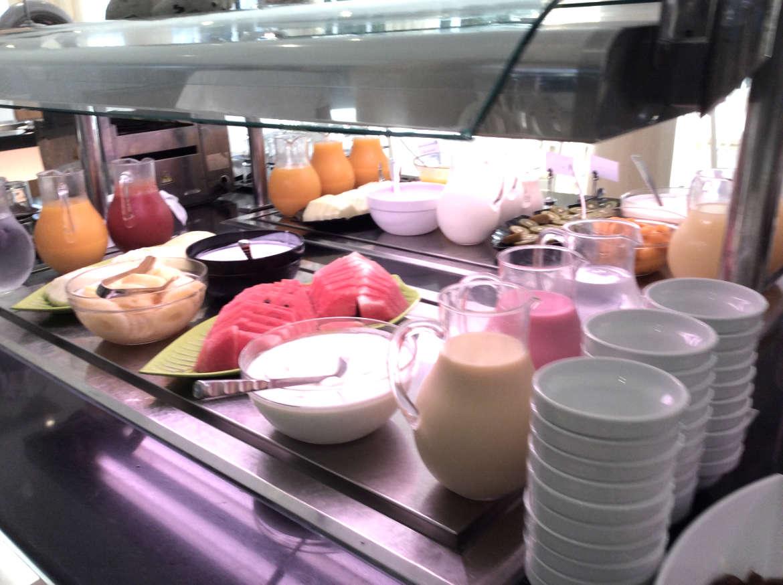 Das Frühstücksbuffett
