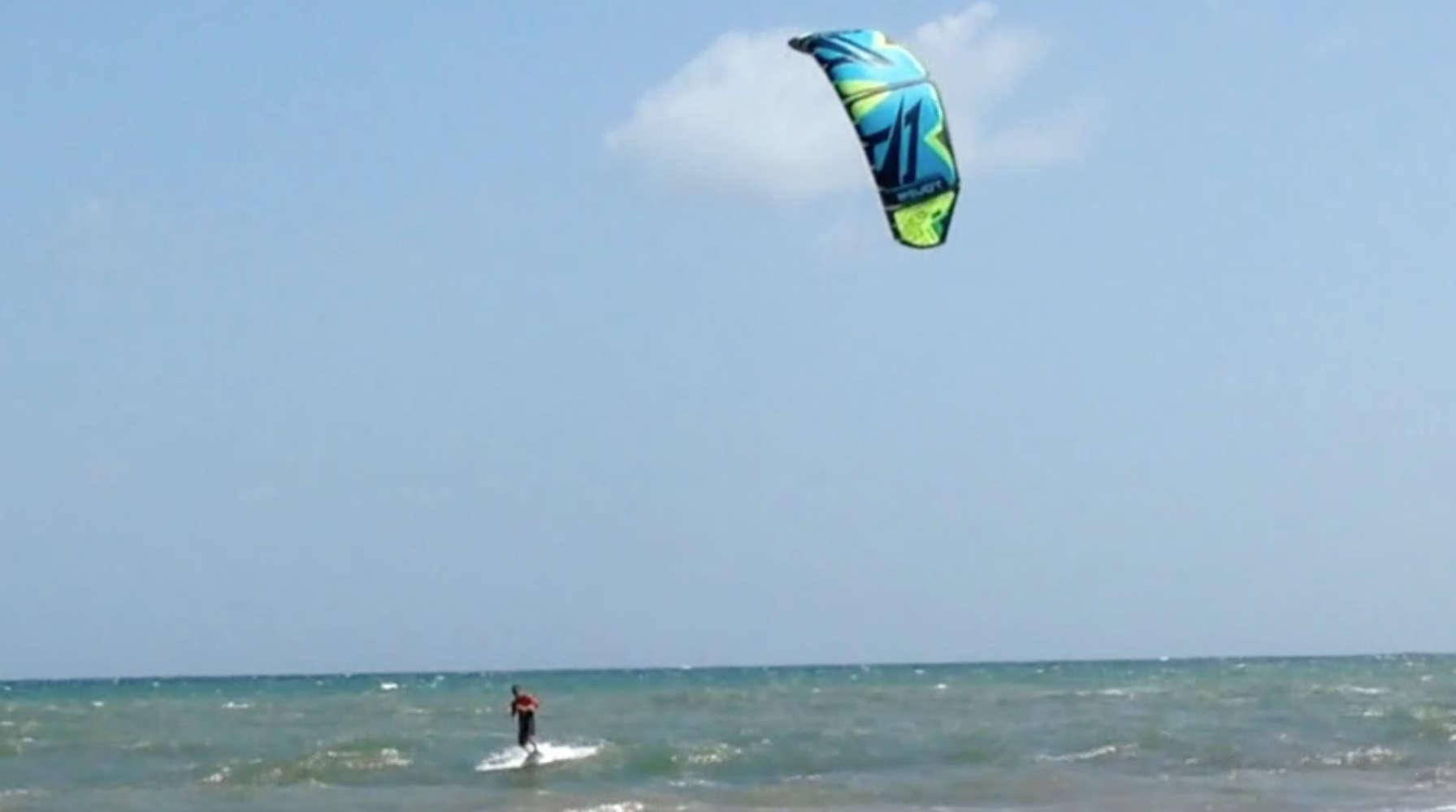 Kitesufer in Tobago