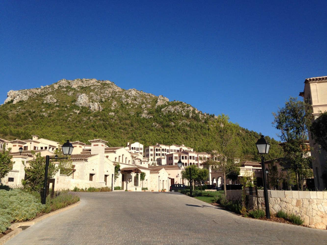 Auf dem Weg ins Park Hyatt Mallorca