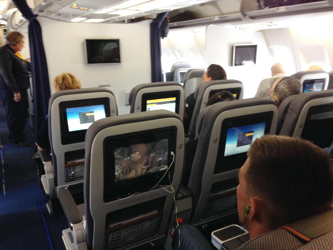 Premium Economy der Lufthansa