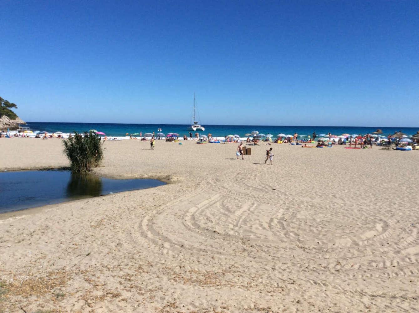 Der Strand von Canyamel