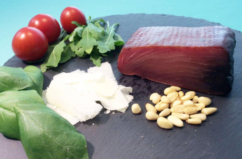 Zutaten für Thunfisch Carpacio