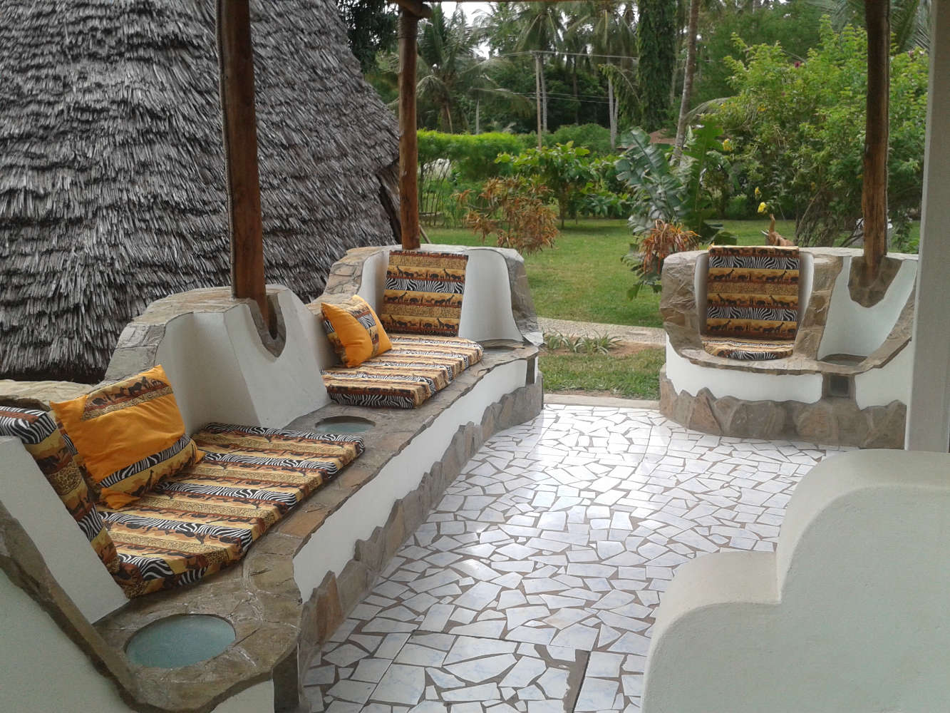Eine Oase der Ruhe in Kenia