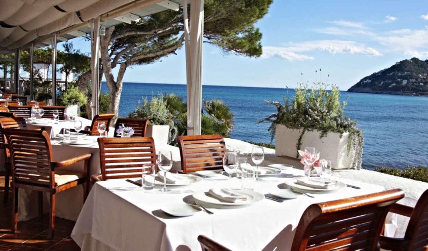 Das Restaurant Cap Vermell, Mallorca