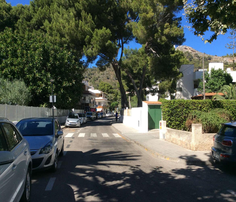 Die Seitenstraße