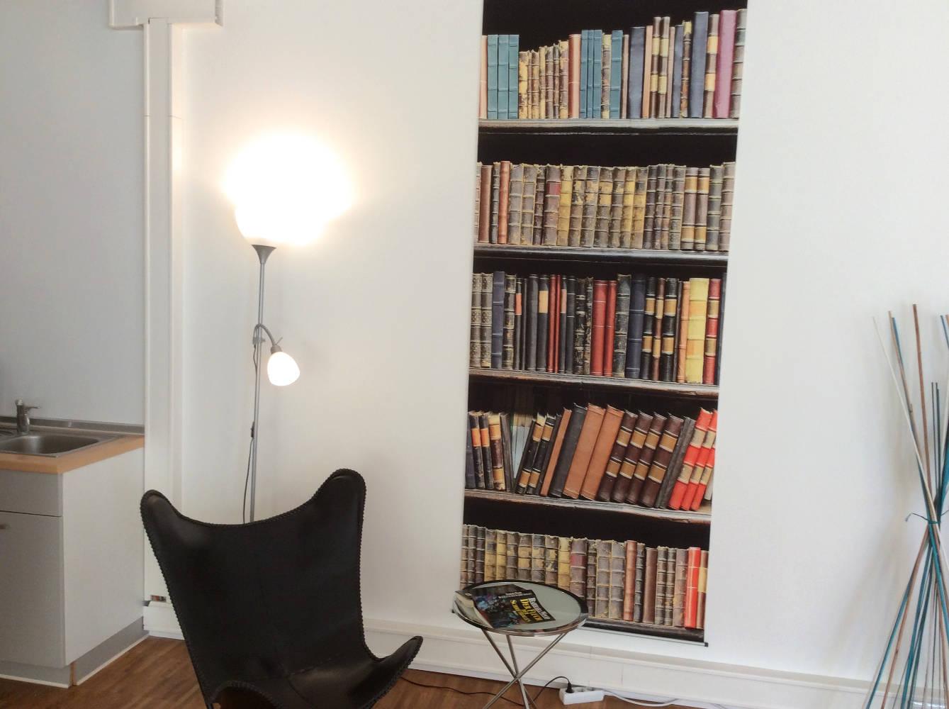 Die Bücherwand