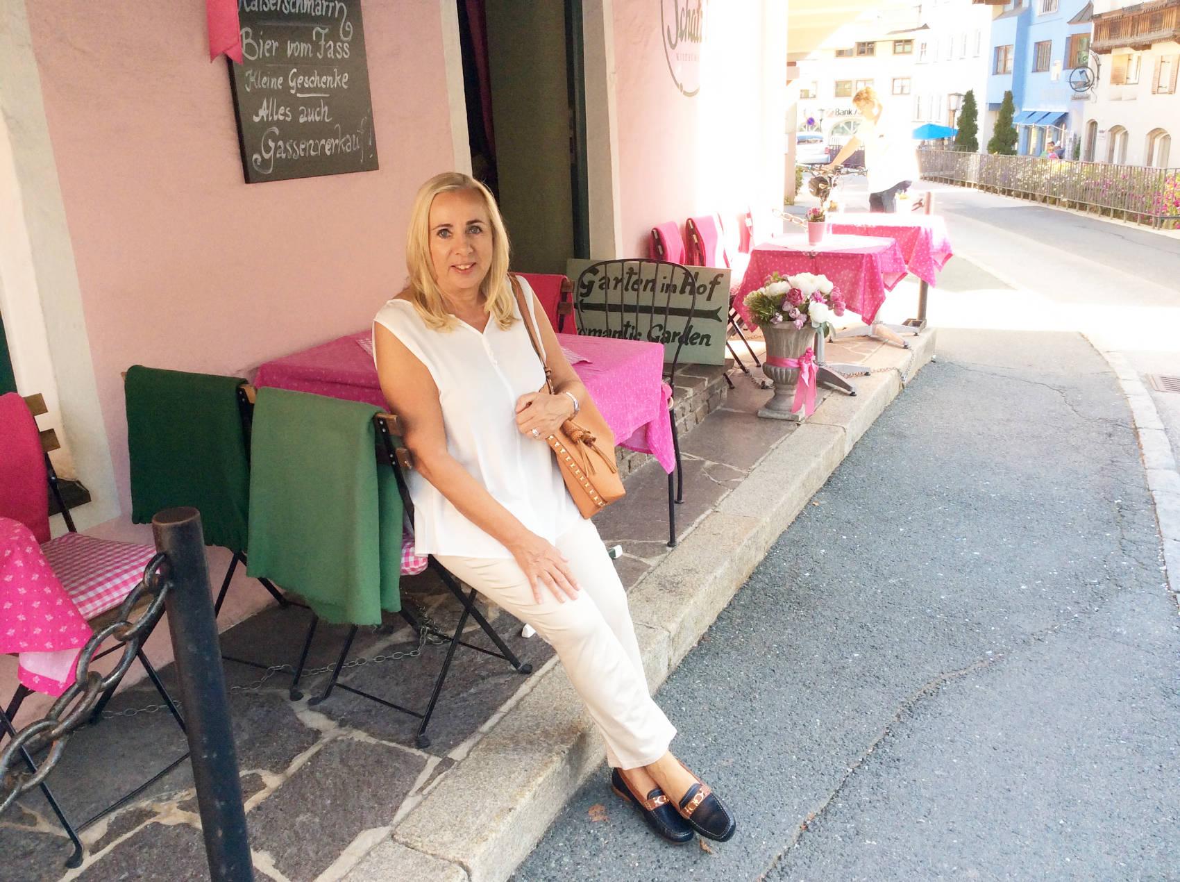 Café in Kitzbühel