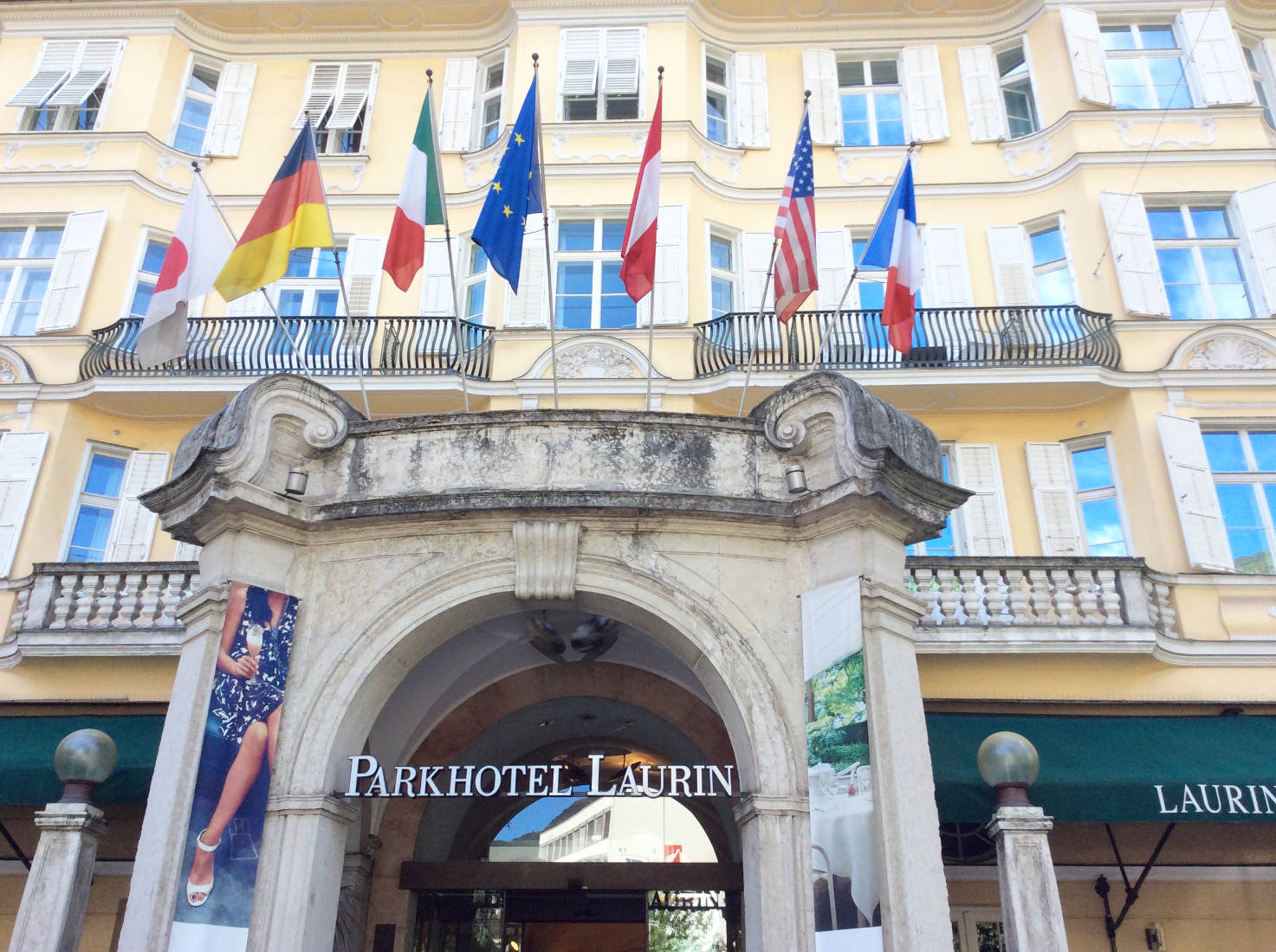 Das Park Hotel Laurin in Bozen