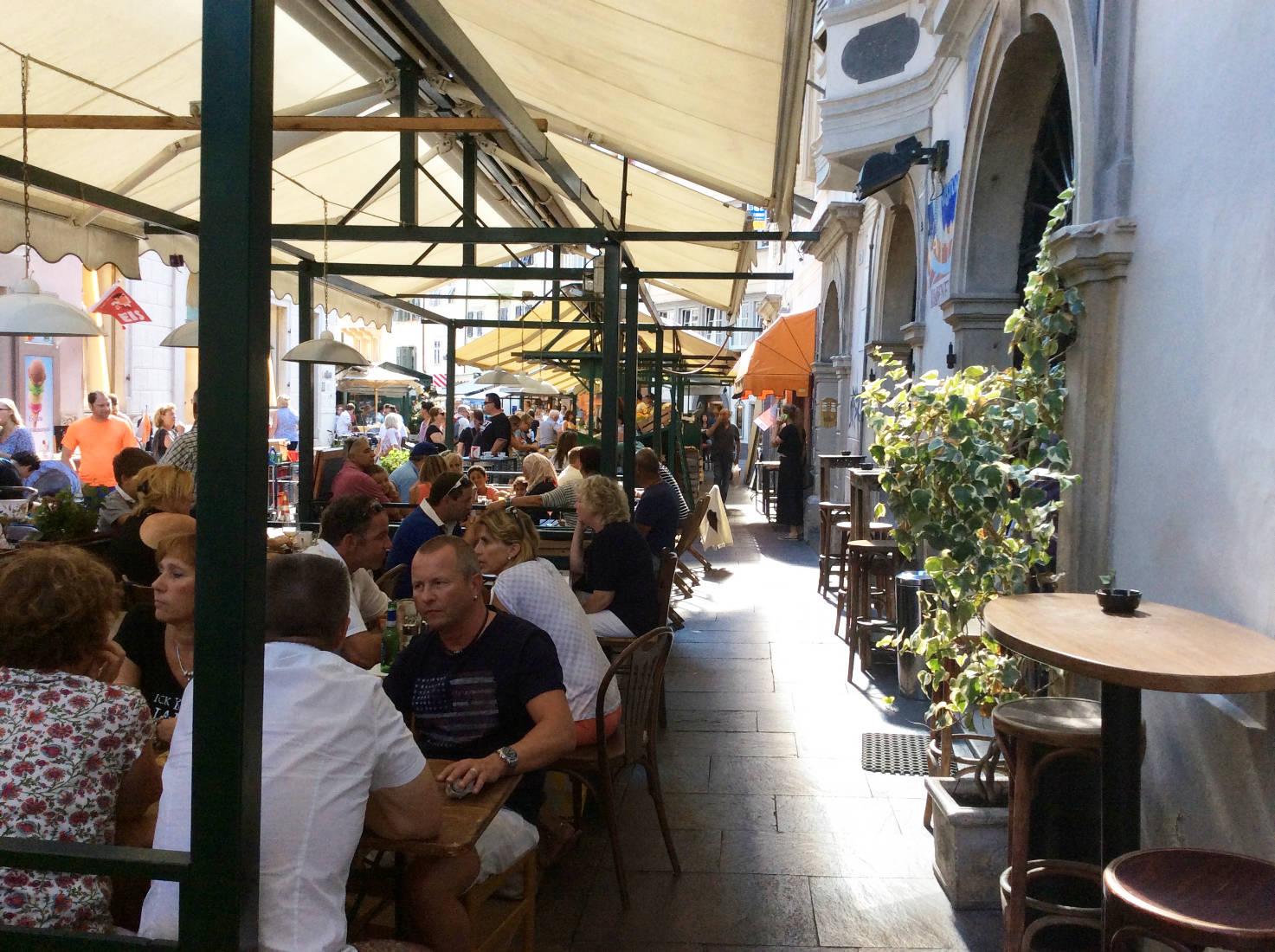 Restaurant in Bozen
