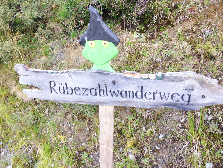 Der Rübezahl Wanderweg