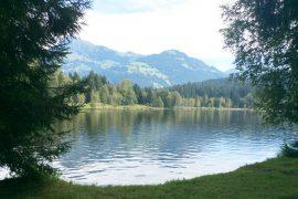 Der Schwarzsee in Kitzbühel