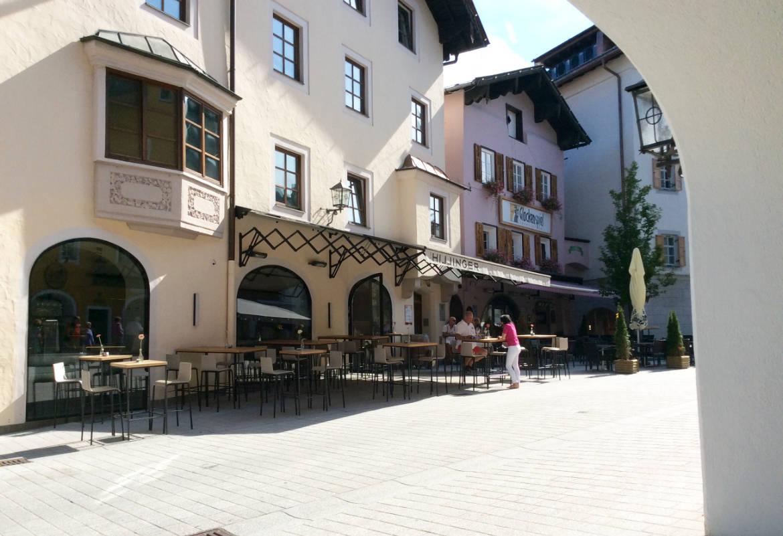 In der Altstadt von Kitzbühel