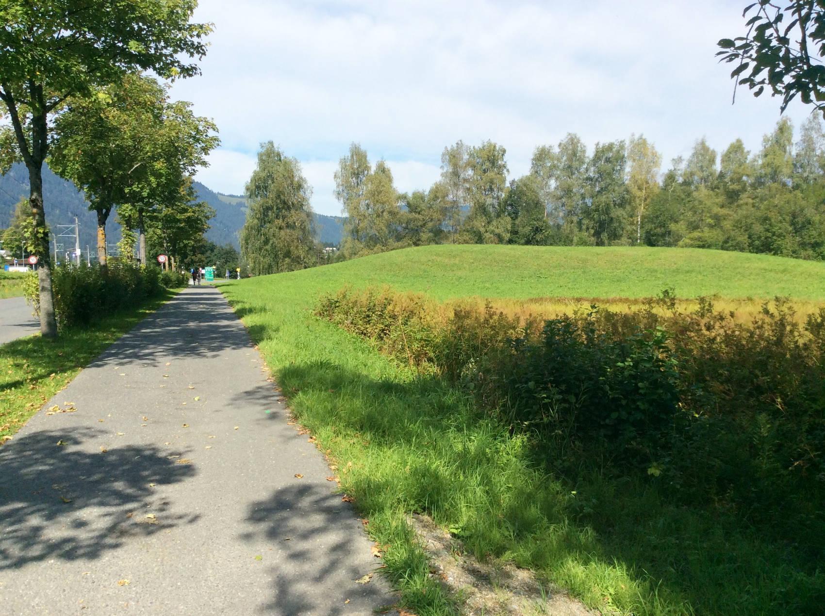 Auf dem Weg zum Schwarzsee