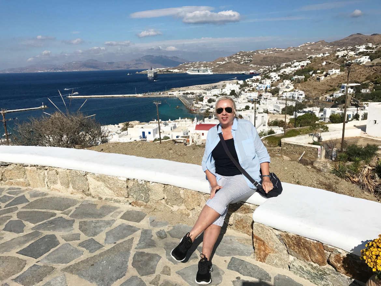 Der Hafen von Ornos auf Mykonos