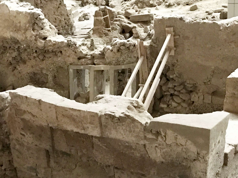 Santorini - Ausgrabungen