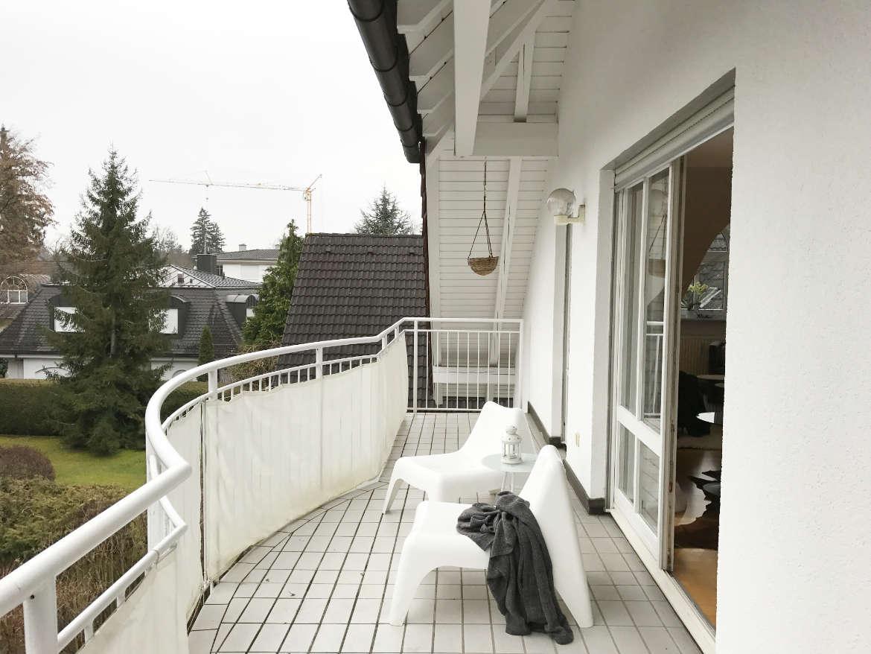 Home Staging umfasst auch den Balkon bzw. die Terrasse