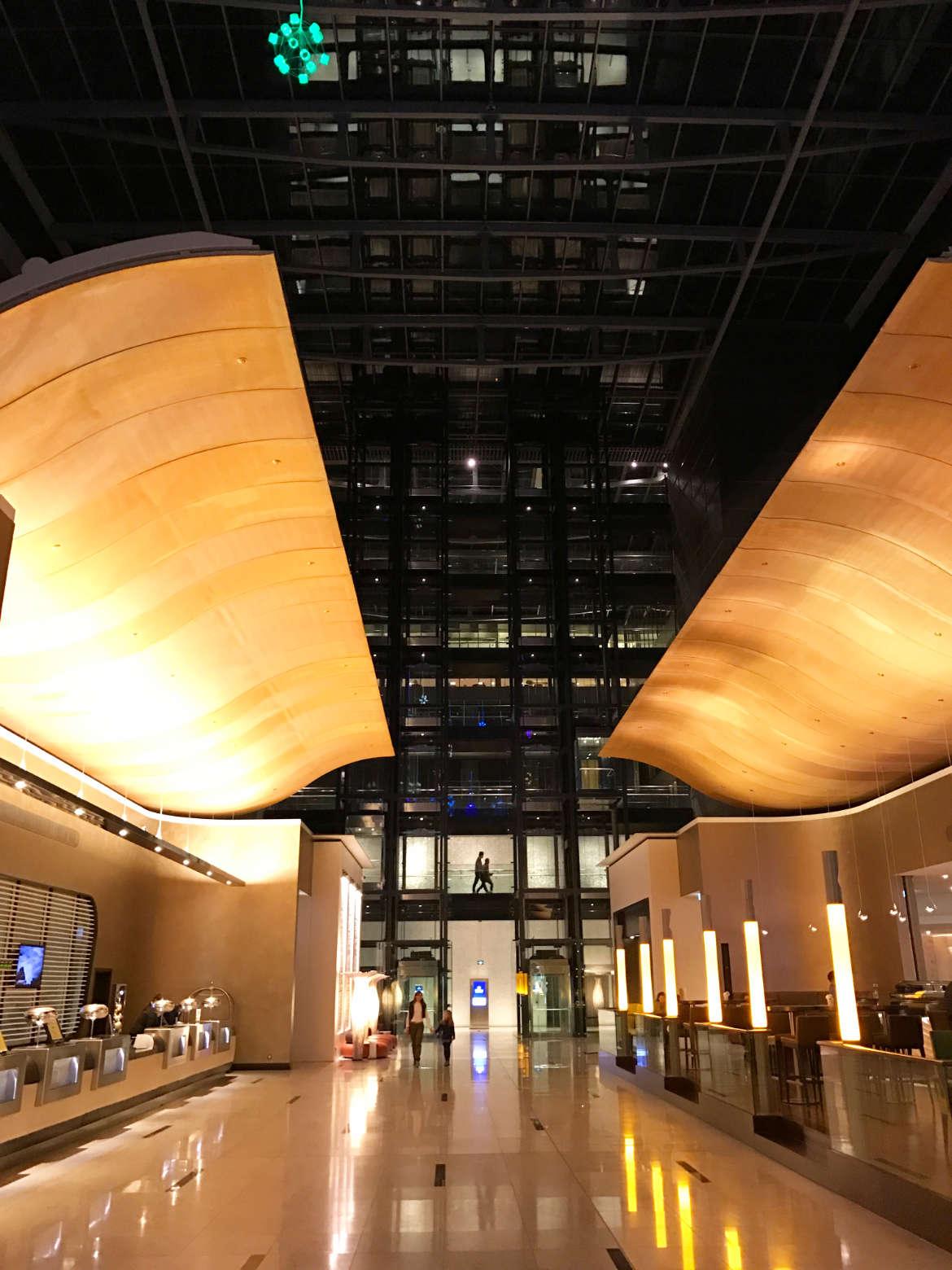 Hilton Frankfurt Airport - Das Foyer