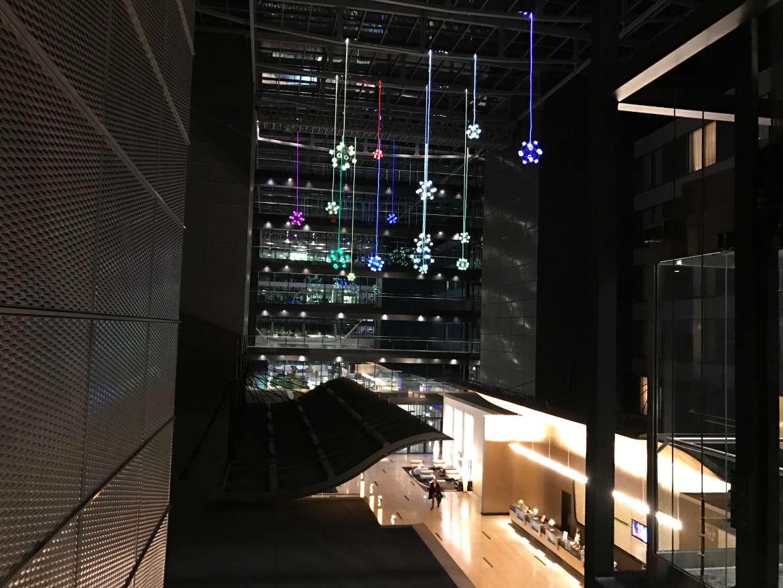 Hilton Frankfurt Airport - Das Foyer von oben