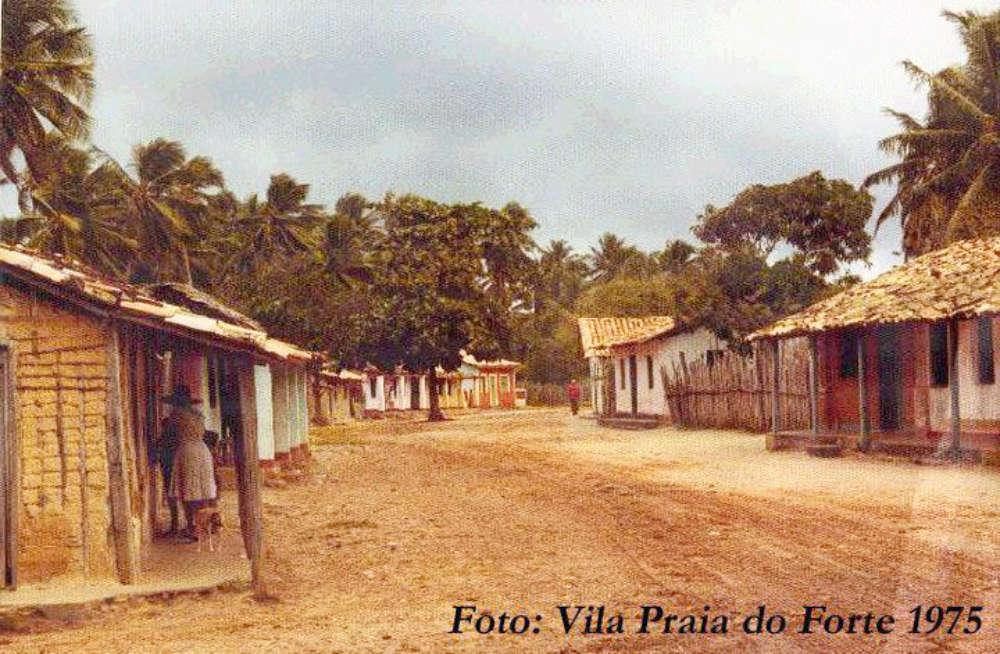 Praia do Forte früher