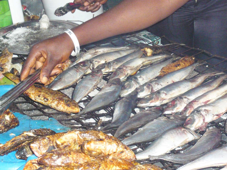 Fischmarkt in Ghana