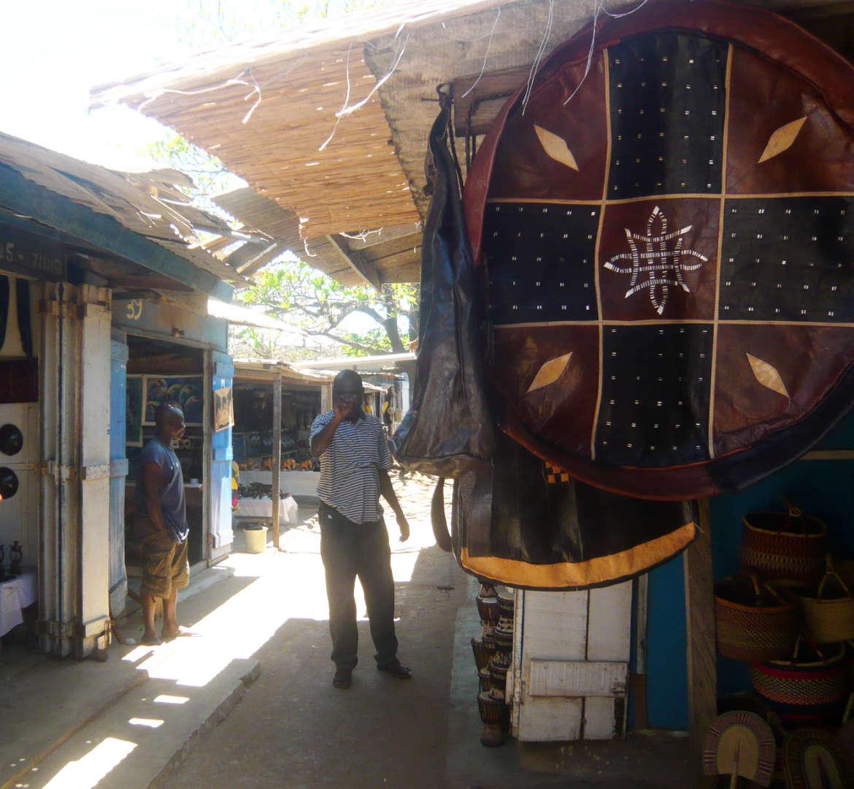 Ghana - Kunstmarkt