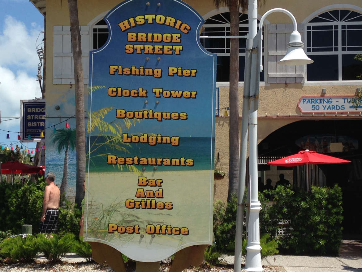 Historical Bridge Street, Florida