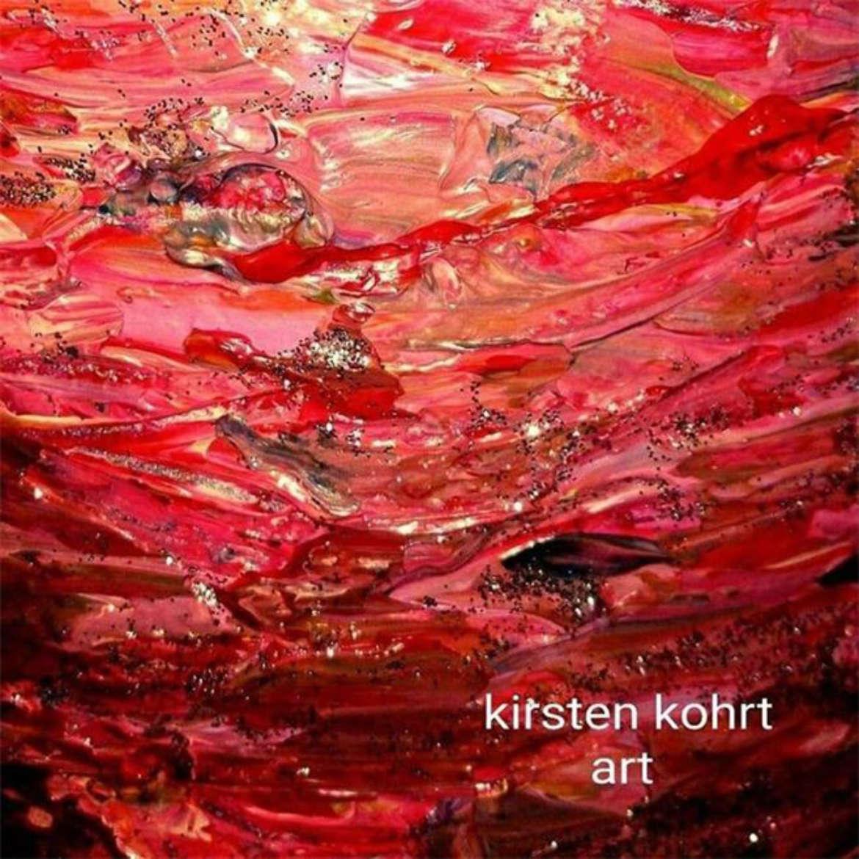 Kirsten Kohrt /Detail-Foto einer bemalten Pannetone-Schachtel