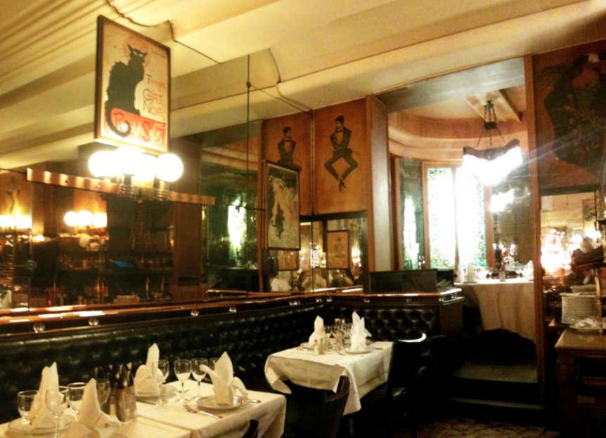 """Art Deco Brasserie """"Terminus Nord"""", Paris"""