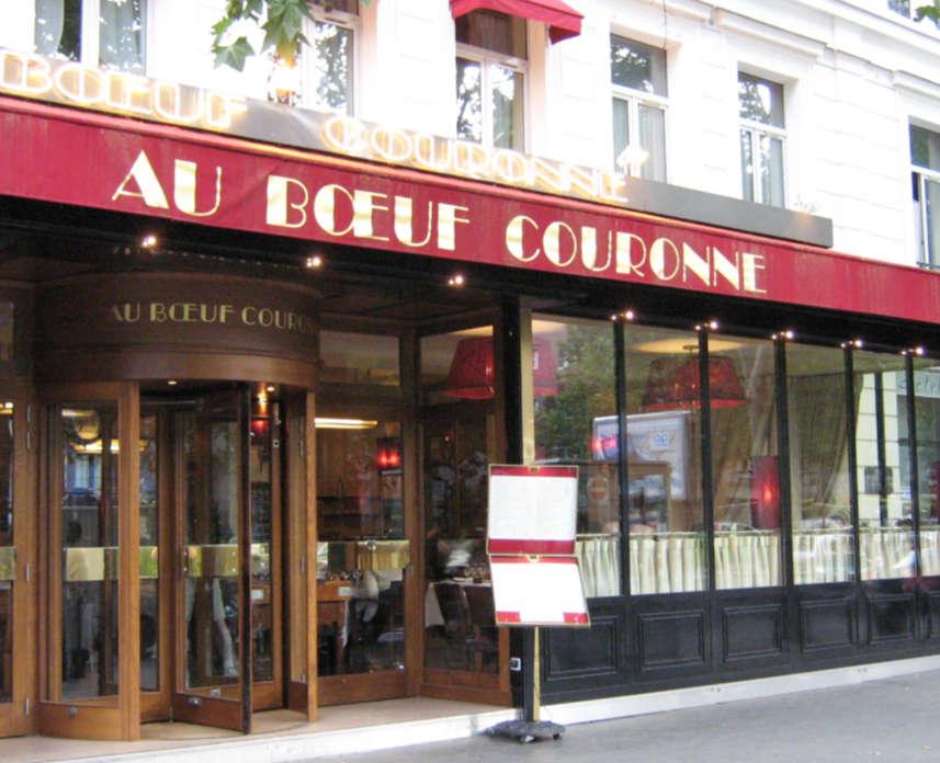 Au Boeuf Couronné, Paris
